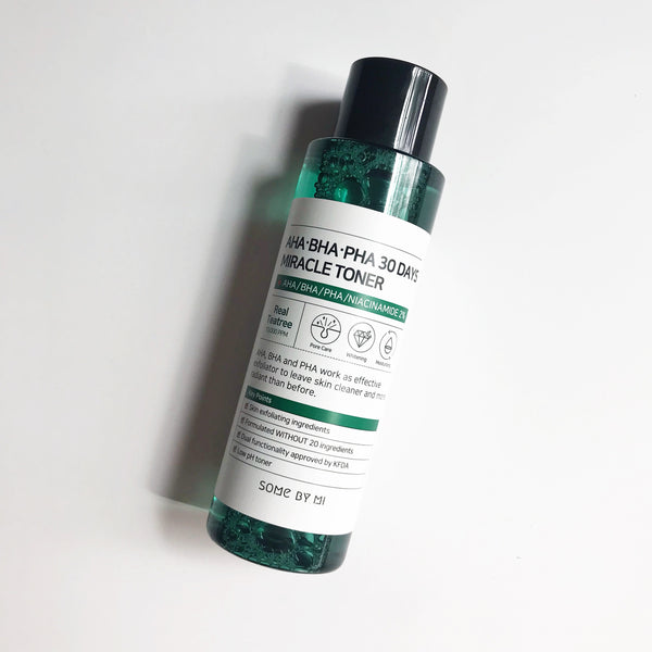 SOME BY MI AHA, BHA, PHA 30 Days Miracle Toner