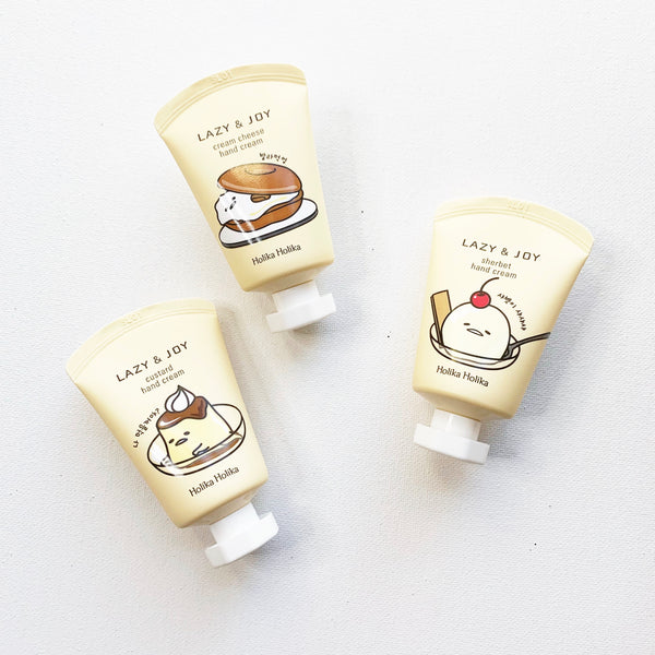 Holika Lazy & Joy Dessert Hand Cream Gudetama
