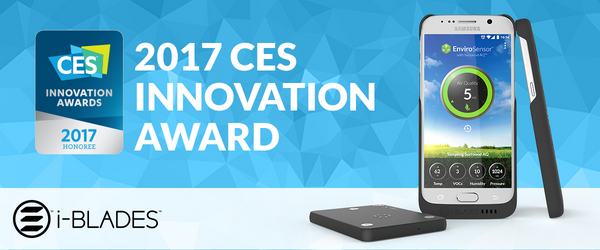 CES 2017 – i-BLADES Wins Wireless Accessory Award