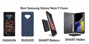 Best Samsung Galaxy Note 9 Cases Leather Wallet, Fashion & Rugged, Battery, sdCard, Charger