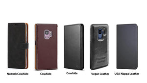 Top 5 Samsung Galaxy S9 and S9Plus Leather Cases