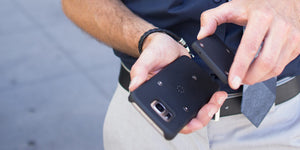 Increase phone storage.  Add An SD Card Storage To Any Phone With A Smartcase