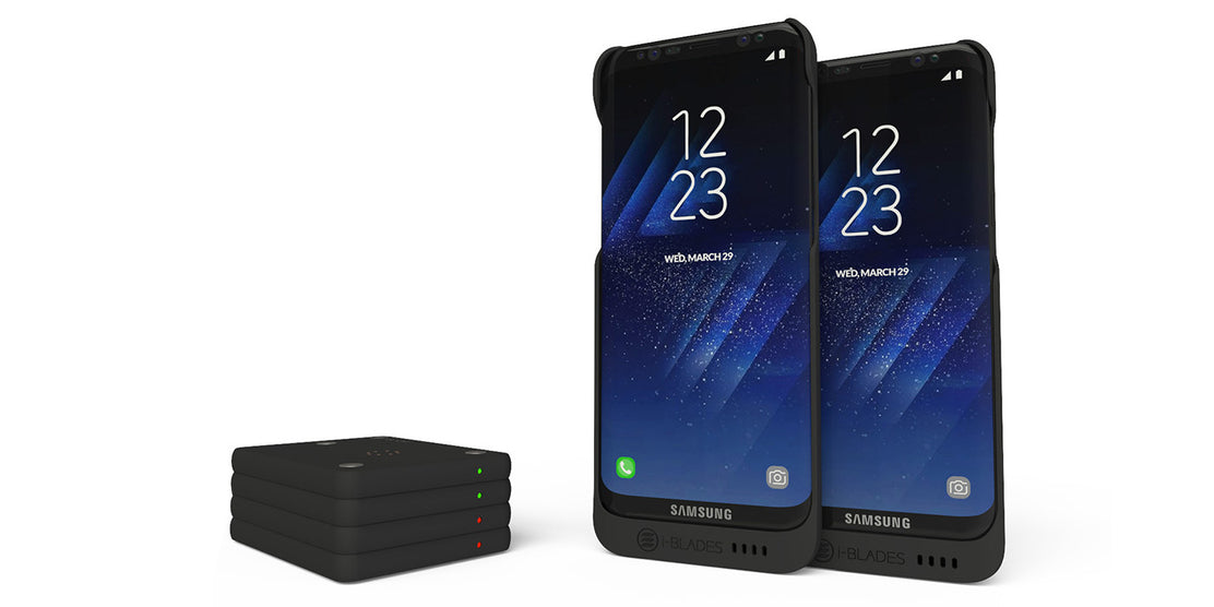 i-BLADES Announces Unique Smartcases for Samsung Galaxy S8 and S8+
