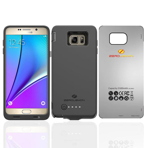 Best Samsung Galaxy Note 5 battery case cases extend battery life smartcase