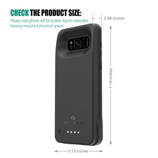 Image result for galaxy s8 zerolemon battery case