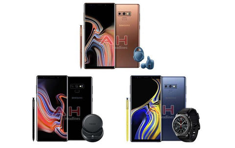 Galaxy Note 9 New Look as per Android Headlines