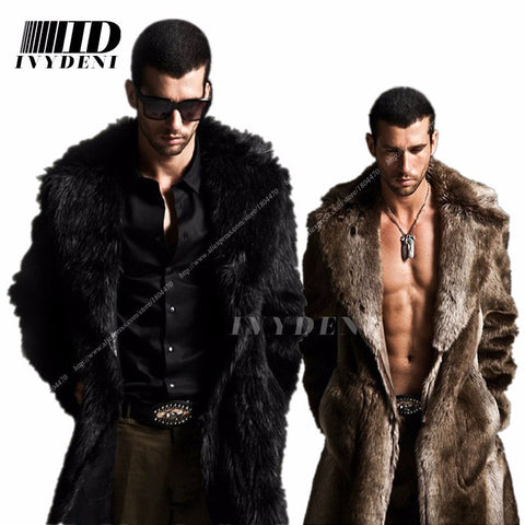 Men's fur coat