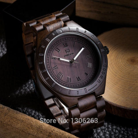 Man Wooden Watch Brand Quartz Watch Role Men Relogio Masculino Watches Vintage Retro Wood Watch - amazingbigdiscounts