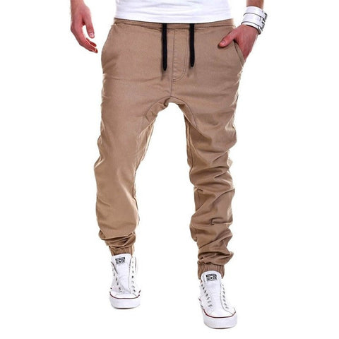 Casual Men Pants Unique Pocket Hip Hop Harem Pants 2017 Brand Male Trousers Solid Pants Sweatpants Plus Size XXXL - amazingbigdiscounts