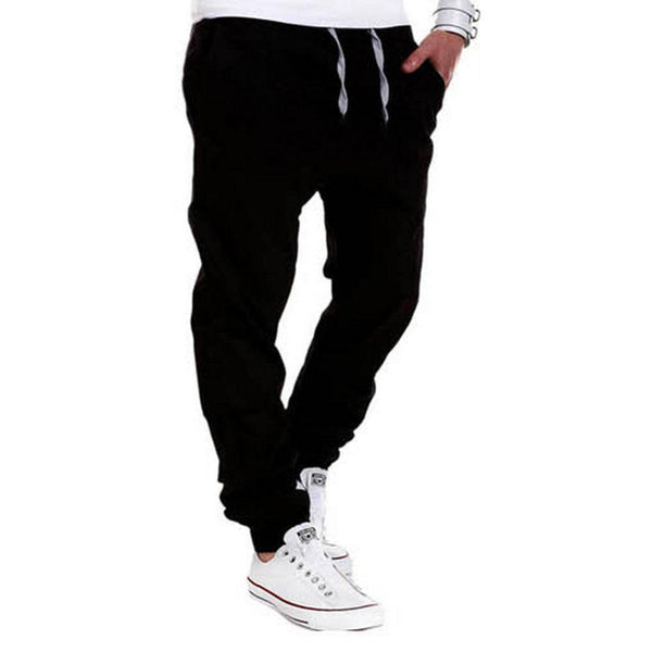 Casual Men Pants Unique Pocket Hip Hop Harem Pants 2017 Brand Male Trousers Solid Pants Sweatpants Plus Size XXXL