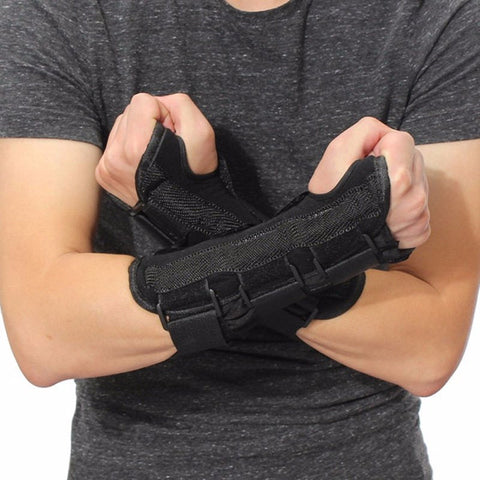Medical Wrist Support Brace Support Pads Sprain