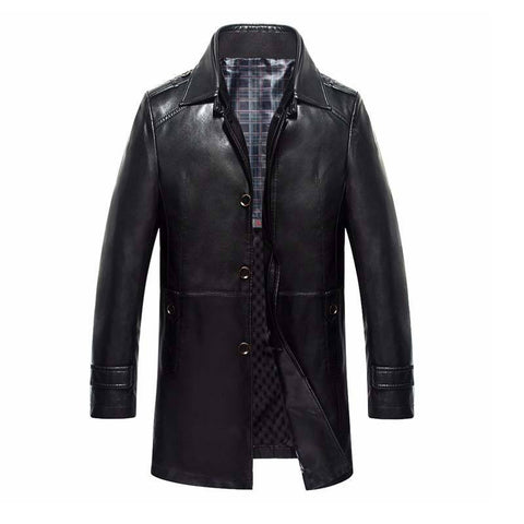 Business Leather Jacket