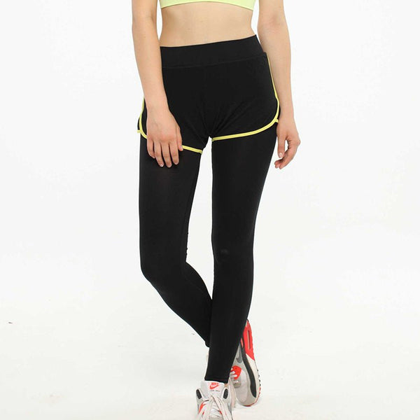 Stretched Gym Running Tights Women Sports Leggings Fitness Yoga Pants