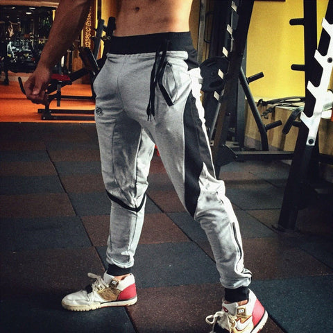 2017 New Brand  Engineers Men's Sweatpants Casual Pants Trousers Men's Cotton Fitness Tracksuit Jogger Pants