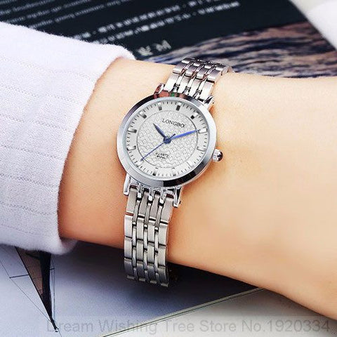 LONGBO Watch Women Clock 2017 Fashion Quartz Wrist Watches Ladies Famous Luxury Brand quartz-watch Relogio Feminino Montre Femme