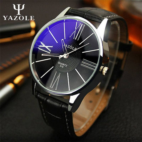 2017 Brand Men Quartz-watch Wristwatch Luxury Famous Wrist Watch Business Male Clock Quartz Watch - amazingbigdiscounts