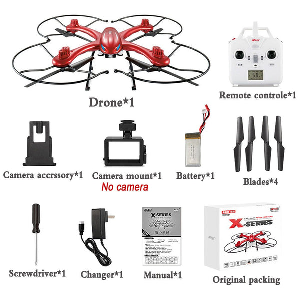 Quadcopter 6-Axis Automatic Takeoff RC Drones Can Add Gopro Camera