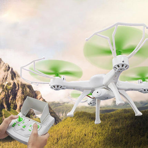 Mini Drone JJRC H29GH 5.8G FPV RC Quadcopter 2.4G 4CH 6-Axis Gyro Fixed Height Mode Drone with camera 2MP RC toys for children - amazingbigdiscounts