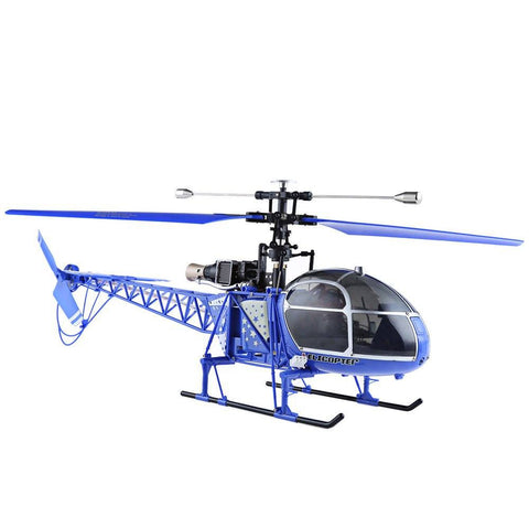 Lama RC Drone 4CH 2.4G 6 Axis Gyro 2 Modes Helicopter Single Propeller High Simulation Remote Control Dron Toys RTF