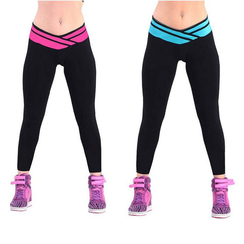 Pants Candy Solid yoga Leggings yoga pants Gym High Waist Running sport Strech