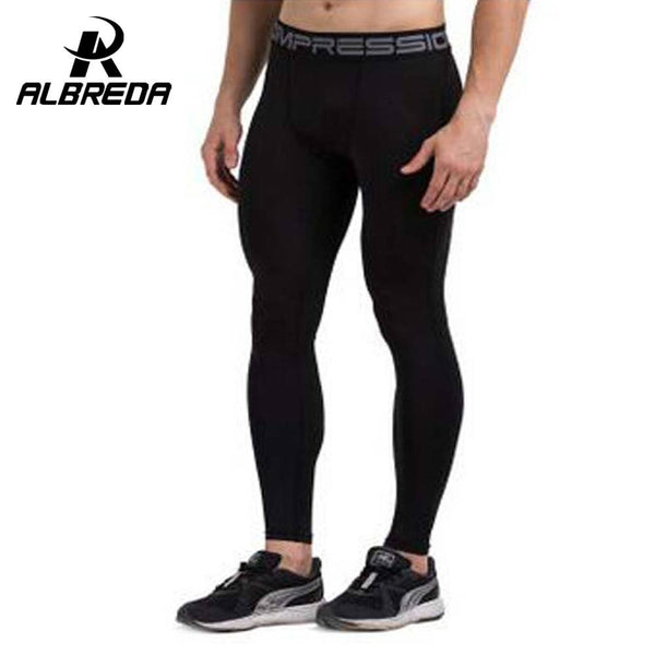 Men compression leggings men's compression tights running tights sports tights - amazingbigdiscounts