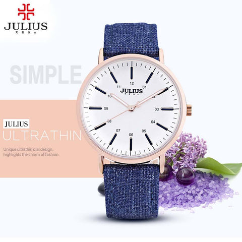 2017 Women JULIUS Watch brand luxury Fashion Casual Quartz Watches Lady relojes mujer women wristwatches Girl Dress clock Gifts