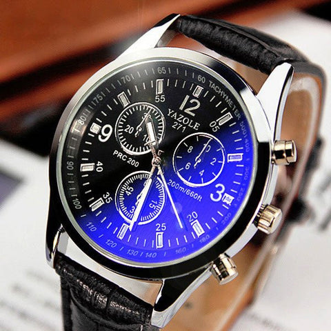 2017 Fashion Mens Quartz Wristwatch Watches Top Brand Luxury Famous Male Clock Wrist Watch Male Hodinky Relogio Masculino - amazingbigdiscounts