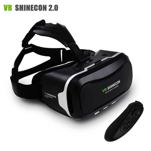 VR II 2.0 VR Headset Virtual Reality 3D Video Glasses Helmet Mobile 3D