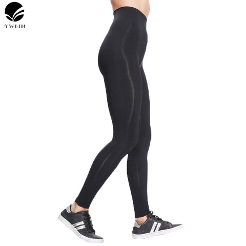 Quick Drying Compression Tights fabric Stretched Sports Pants Gym Clothes Running Tight Women Sports Leggings Fitness Yoga Pants - amazingbigdiscounts