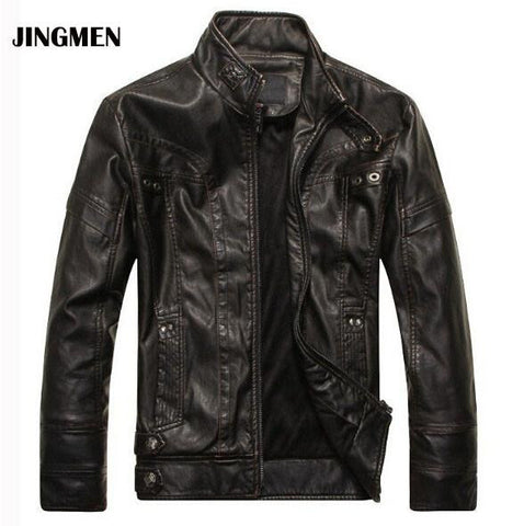 Leather Men's Jacket Coat