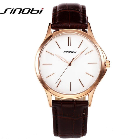 Casual Japan Quartz Men Watches Ultra Thin Simple Fashion Business Gentalman trend leather Strap Wristwatch Classic Gift - amazingbigdiscounts