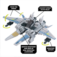 Snap Ships Wasp / Falx Battle Set - Build to Battle
