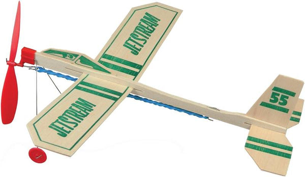 Balsa Wood Jet-Stream Airplane