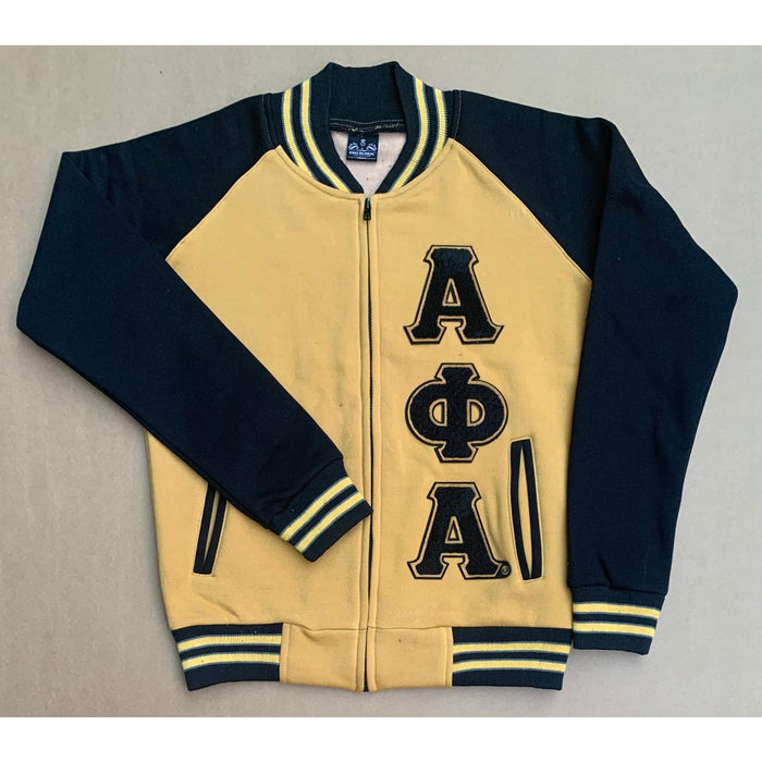 Old Gold Alpha Phi Alpha Varsity Fleece
