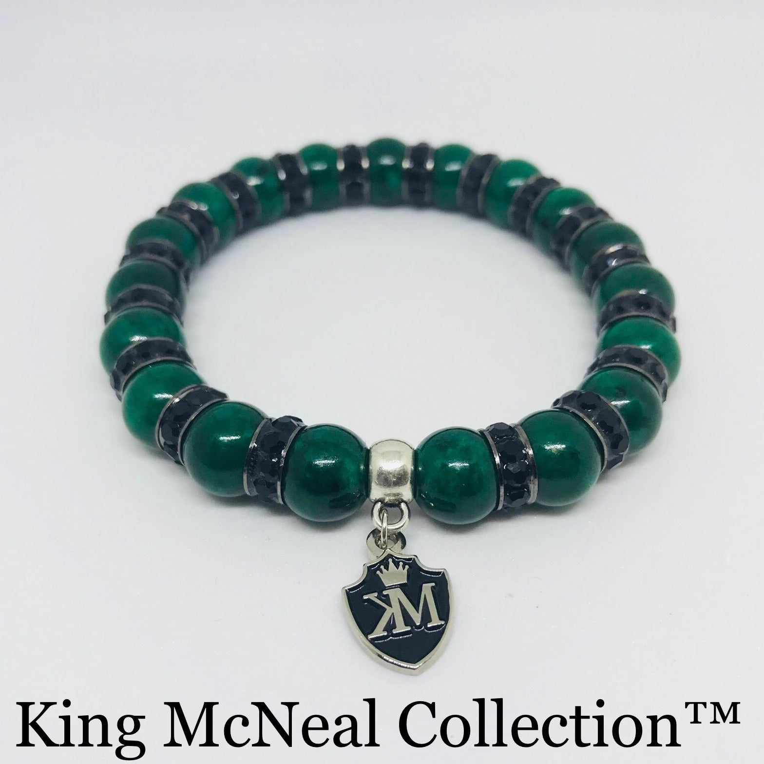 Green & Black KMC Bracelet