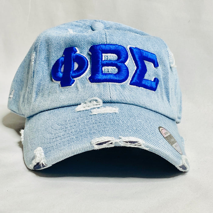 Light Denim Phi Beta Sigma dad hat