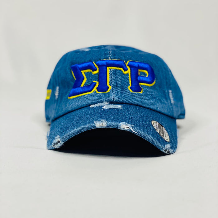 Sigma Gamma Rho Denim Hat