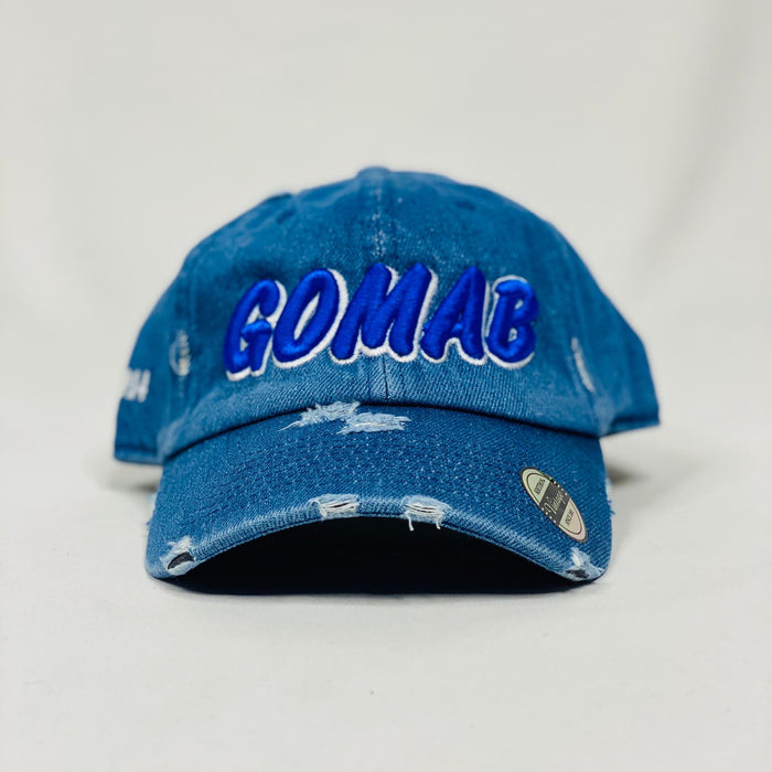 Phi Beta Sigma GOMAB denim dad hat