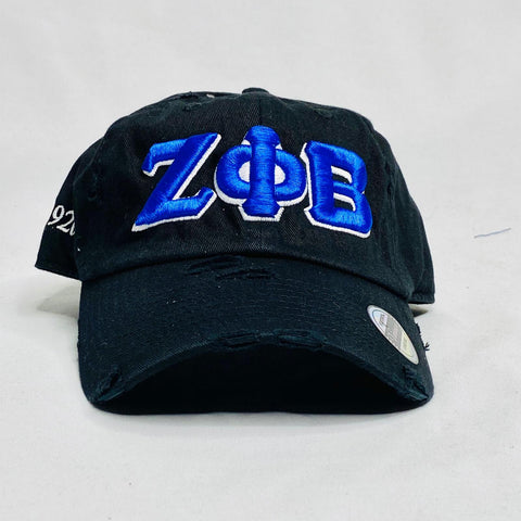 Zeta Phi Beta Black Hat