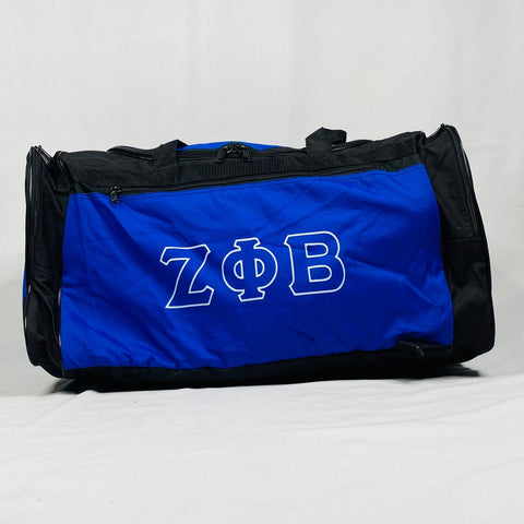 Zeta Phi Beta Black Duffle-Bag