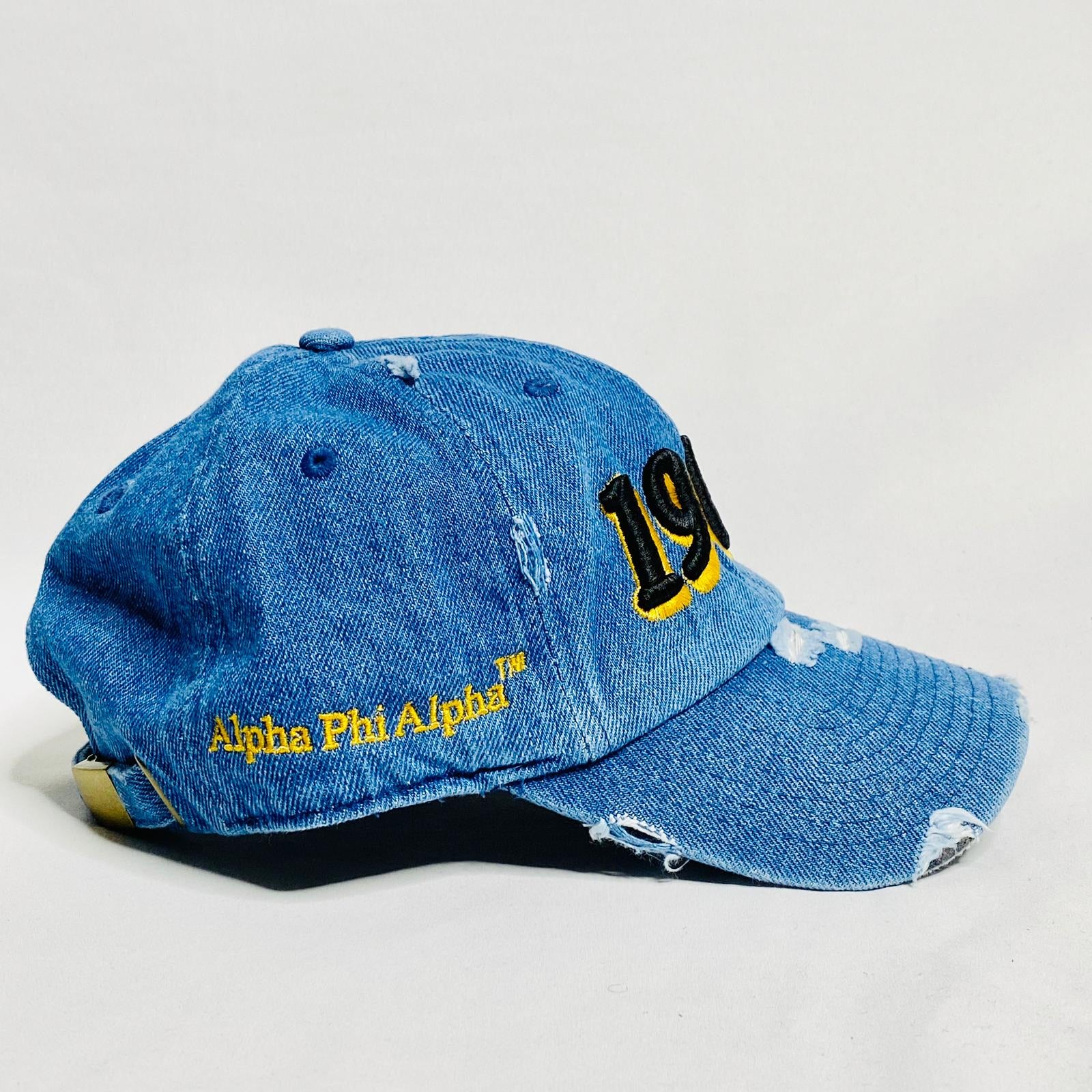 Alpha 1906 Denim Dad Hat