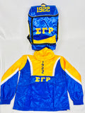 Sigma Gamma Rho Windbreaker Jacket