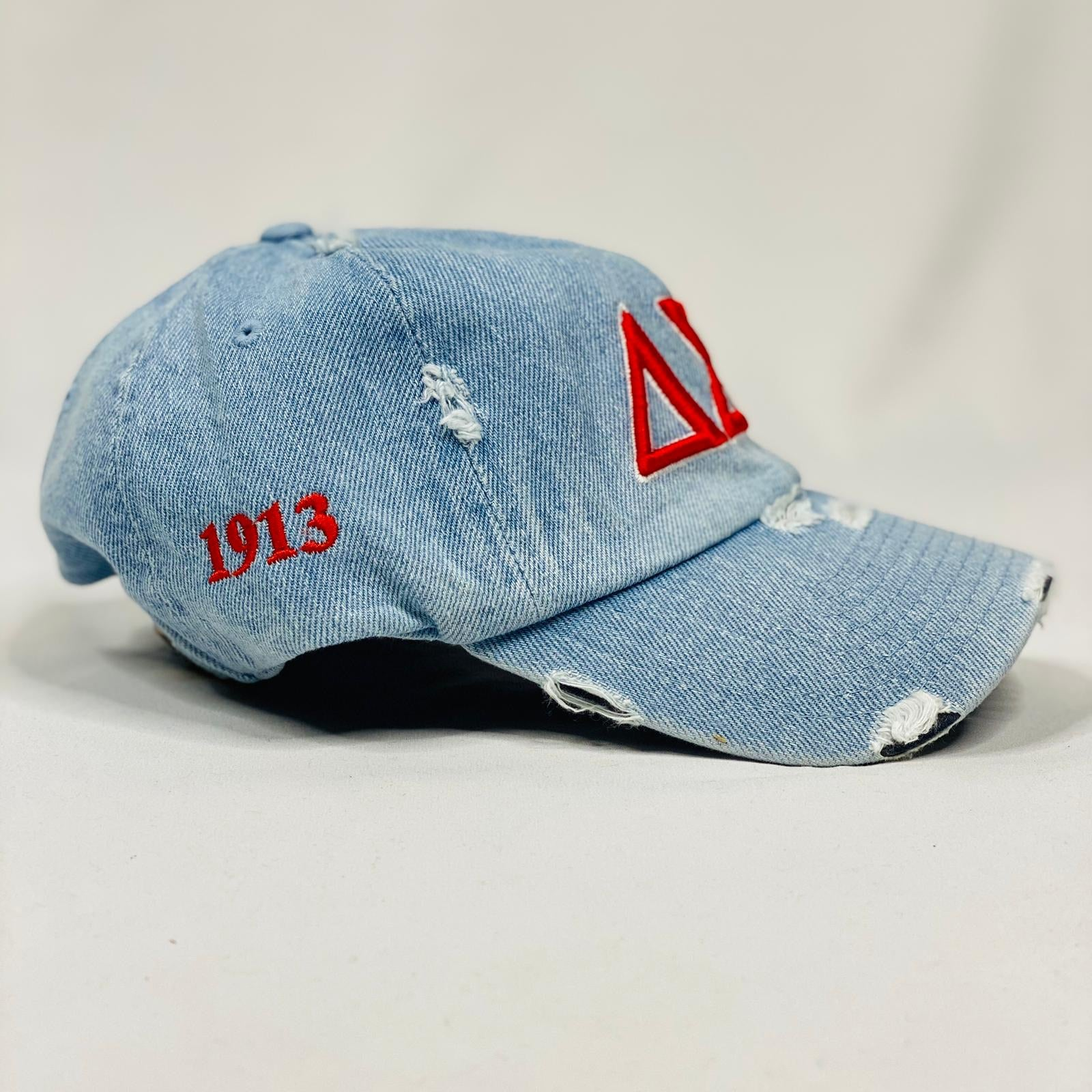 Delta Sigma Theta Light Denim Hat