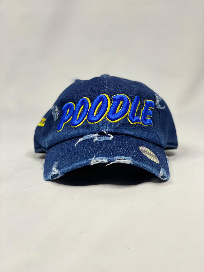 Sigma Gamma Rho Poodle Dark Denim Hat