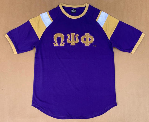 Purple Omega shirt