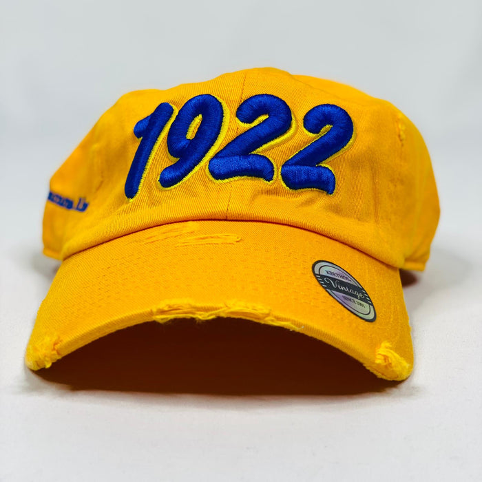 Sigma Gamma Rho 1922 Gold Hat