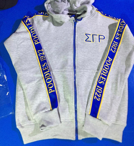 SGRho Tapered Sweatsuit Jacket
