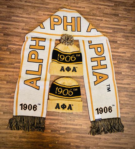 Alpha Scarf and One Hat