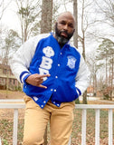 Sigma Wool and Leather Letterman Jacket