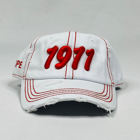 Kappa 1911 White Denim Dad Hat